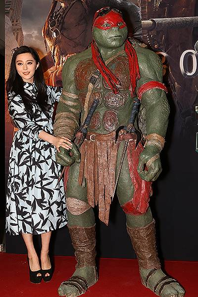 Teenage Mutant Ninja Turtles Beijing Premiere