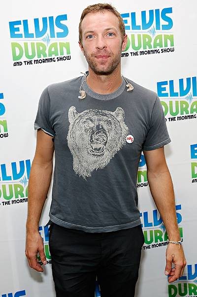 "Chris Martin Visits ""The Elvis Duran Z100 Morning Show"""