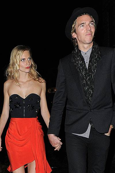 Mario Testino 60th Birthday Bash at the Chiltern Firehouse restaurant Featuring: Poppy Delevingne,James Cook Where: London, United Kingdom When: 29 Oct 2014 Credit: WENN.com