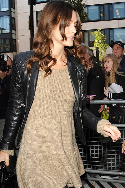 Keira Knightley at the BBC Radio studios Featuring: Keira Knightley Where: London, United Kingdom When: 28 Oct 2014 Credit: WENN.com