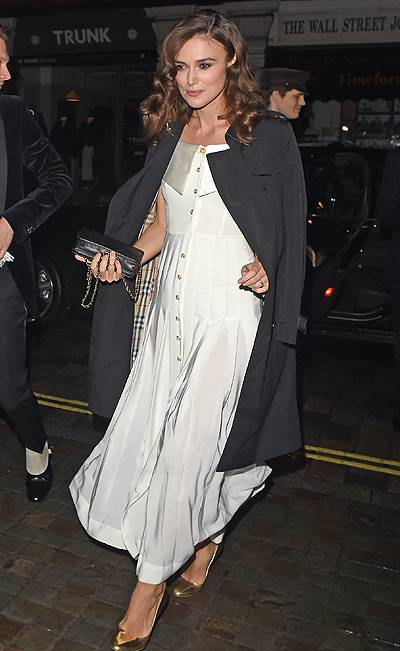 Mario Testino 60th Birthday Bash at the Chiltern Firehouse restaurant Featuring: Keira Knightley Where: London, United Kingdom When: 29 Oct 2014 Credit: WENN.com