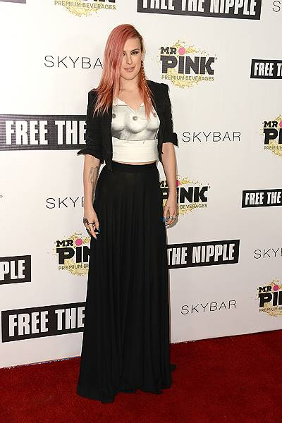 """Free The Nipple"" Fundraiser Hosted By Russell Simmons - Arrivals"