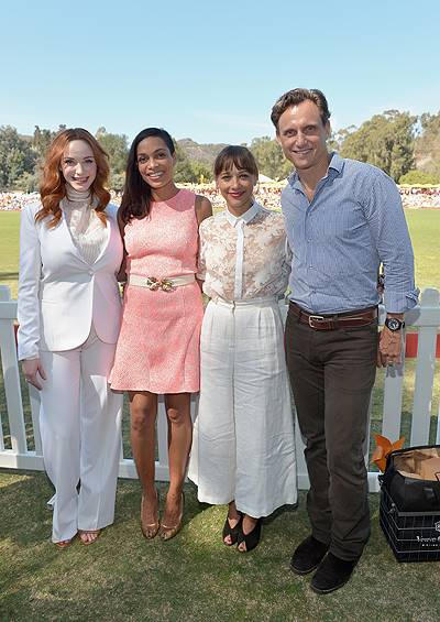 Fifth-Annual Veuve Clicquot Polo Classic, Los Angeles - Inside
