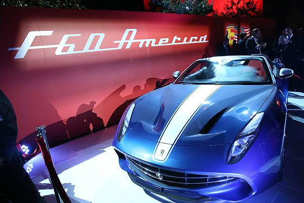 Ferrari Celebrates 60 Years In America