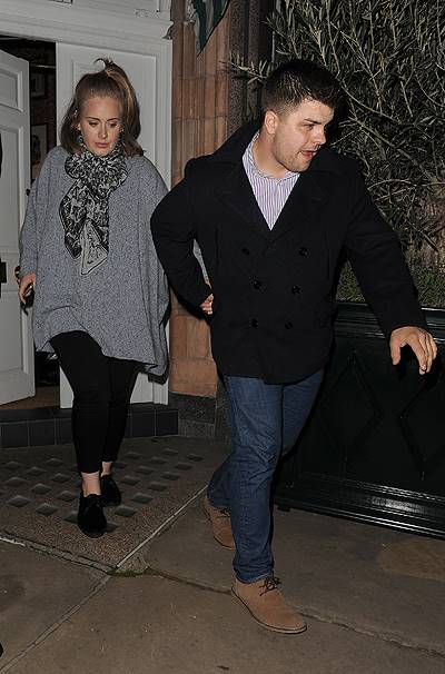Celebrities leave Harry's Bar, after a private party. Adele was first to leave at 12.30am, followed by Beyonce at 4.15am. Jay-Z and Will.i.am left together at 4.25am Featuring: Adele Adkins Where: London, United Kingdom When: 18 Oct 2014 Credit: Will Ale
