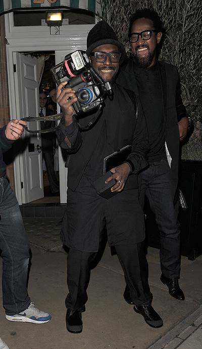 Celebrities leave Harry's Bar, after a private party. Adele was first to leave at 12.30am, followed by Beyonce at 4.15am. Jay-Z and Will.i.am left together at 4.25am Featuring: Will.i.am Where: London, United Kingdom When: 18 Oct 2014 Credit: Will Alexan