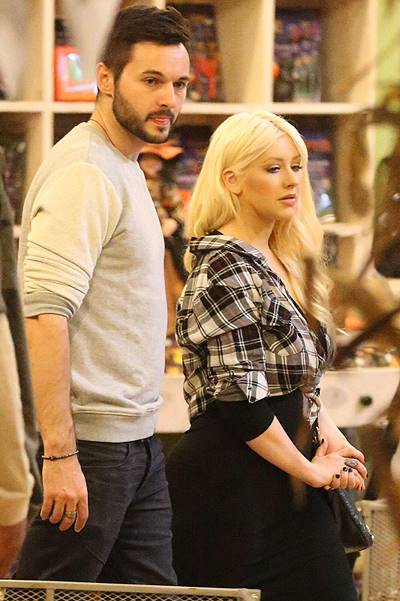 Christina Aguilera arrives at the Mr. Bones Pumpkin Patch with her fiancГ© Matthew Rutler Featuring: Christina Aguilera,Matthew Rutler Where: Los Angeles, California, United States When: 24 Oct 2014 Credit: WENN.com
