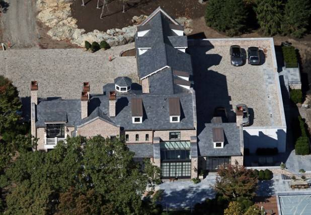 EXCLUSIVE: Gisele Bundchen and Tom Brady are fully moved into their new Boston mansion