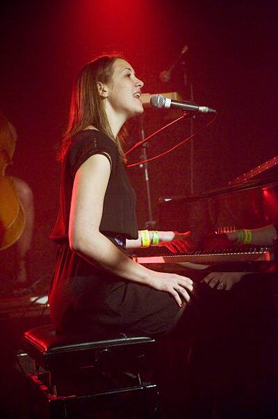 Sophie Hunger Performs In Barcelona