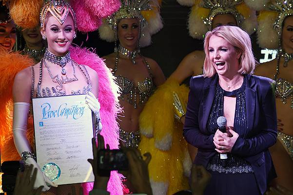 "Britney Spears Attends ""Britney Day"" To Celebrate Her Las Vegas Show"