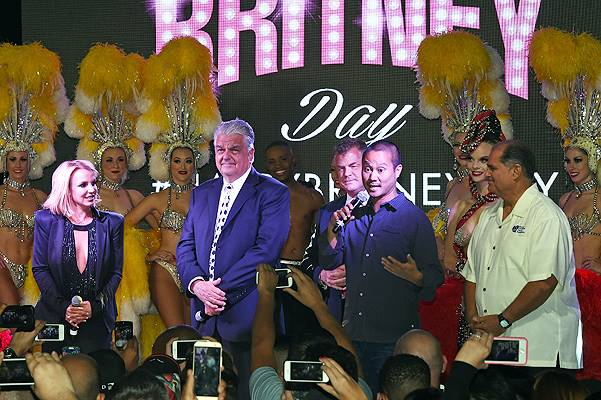 """Britney Day"" Held To Celebrate Britney Spears' Las Vegas Show"