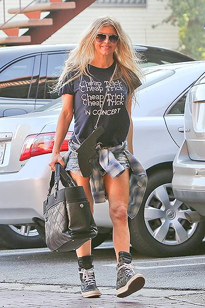 INF - Fergie Duhamel goes grunge and classic at the same time