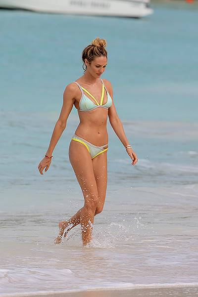 EXCLUSIVE: Candice Swanepoel and Behati Prinsloo in the Caribbean for Victoria's Secret