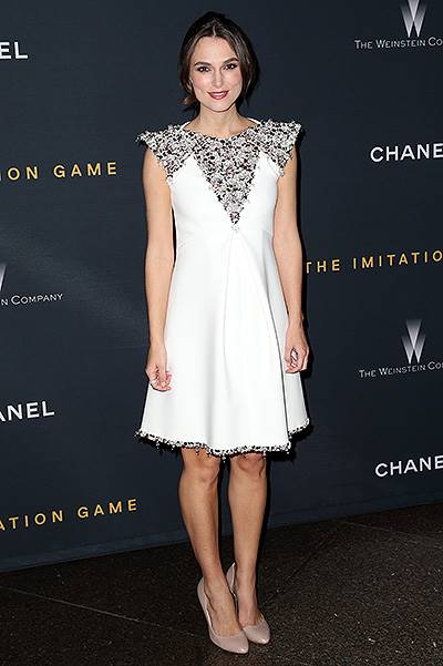 "Screening Of The Weinstein Company ""The Imitation Game"" Hosted By Chanel - Arrivals"
