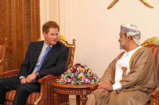 Prince Harry Visits Oman - Day 1