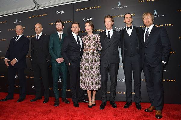 Premiere Of The Imitation Game, Hosted By Weinstein Company