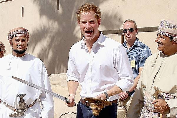Prince Harry Visits Oman - Day 2