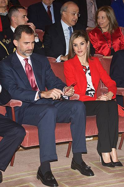 Spanish Royals attends the CSIC 75th Anniversary