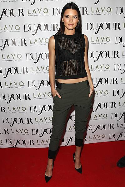 DuJour Magazine's Jason Binn Celebrates Kendall And Kylie Jenner's Bruce Weber Shoot  Presented By Juice Press at Lavo Restaurant