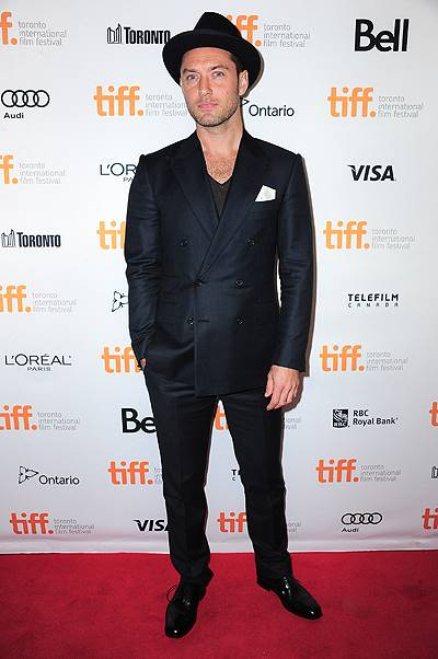 at arrivals for DON HEMINGWAY Premiere at the Toronto International Film Festival, Princess of Wales Theatre, Toronto, ON September 8, 2013. Photo By: Gregorio Binuya/Everett Collection